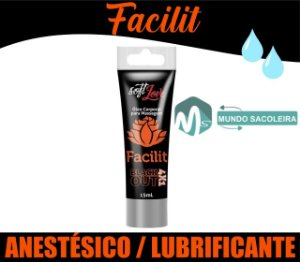 Anestésico Anal 4x1 Facilit Bisnaga 15ml Soft Love