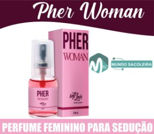 Perfume Feminino Pherwoman 20ml Soft Love
