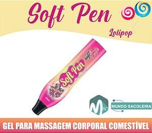 Caneta Comestível Soft Pen 35ml Soft Love LOLIPOP