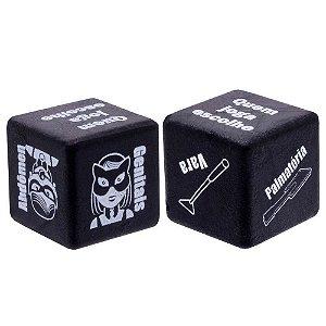 Dado Sado 2 Unid. Diversão Ao Cubo