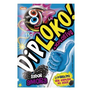 Pirulito Explosive Dip Loko 11g Danilla Amora