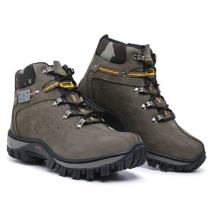 Bota Caterpillar Adventure 1200 -Cinza Camuflado
