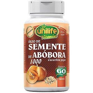 Óleo de Semente de Abóbora 60 caps - Unilife Vitamins