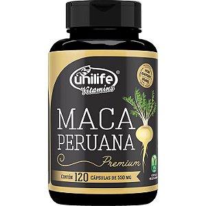 Maca Peruana Premium 120 caps - Unilife Vitamins