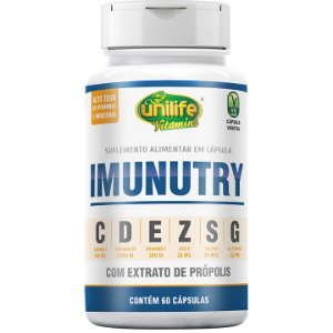 Imunutry 60 Caps - Unilife Vitamins