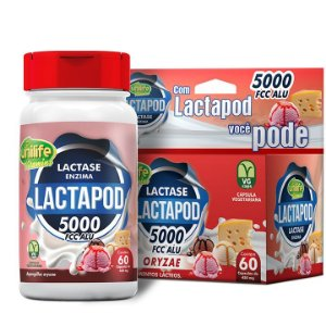 Lactapod 450mg 5.000 FCC  60 caps - Unilife Vitamins