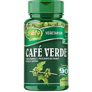 Café verde  90 caps - Unilife Vitamins