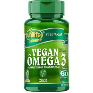 Vegan Ômega 3 60 caps - Unilife Vitamins