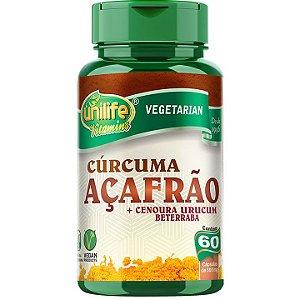 Açafrão 60 caps - Unilife Vitamins