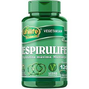 Espirulife 120 cápsulas - Unilife Vitamins