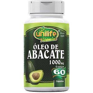 Óleo de Abacate 60 caps - Unilife Vitamins