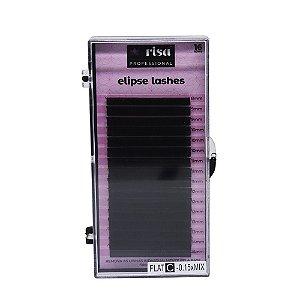 RISA - Cilios de extensao Elipse flat 0,15mm C 16 linhas mix EL2027 - Cilios de Extensao MIX