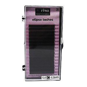 Fios para extensão Elipse 0,20mm flat C 16 linhas mix RISA