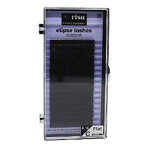 Fios para extensão 0,15mm Elipse tesourinha C 16 linhas mix RISA