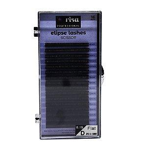 Fios para extensão Elipse 0,15mm tesourinha D 16 linhas mix RISA