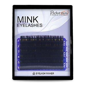Mink Fio Para Extensão 6 Linhas Mix D 0,25 8 Ao 16