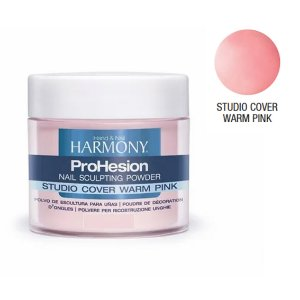 Pó acrílico Studio Cover Warm Pink 028g Harmony