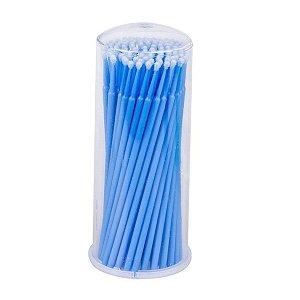 Microbrush 2,5 ml 100 un. azul Hs Chemical