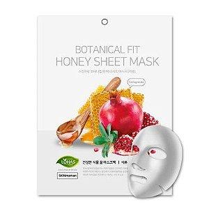 Máscara Facial Coreana Nohj Botanical Fit Romã e Mel