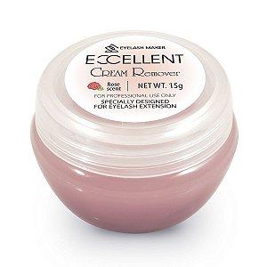 Removedor de cola em creme Excellent Cream Remover 15g Rose Scent