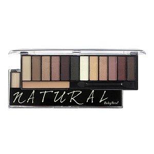 Paleta de Sombras Natural 12 cores com Primer - HB9908 - Ruby Rose