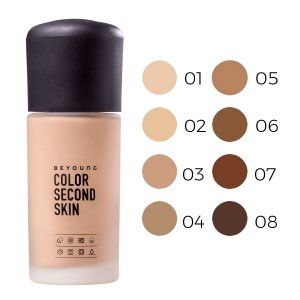 Base Color Second Skin Beyoung 30gr