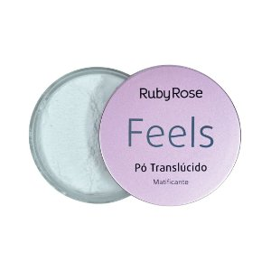 Pó Translucido Matificante Feels Ruby Rose