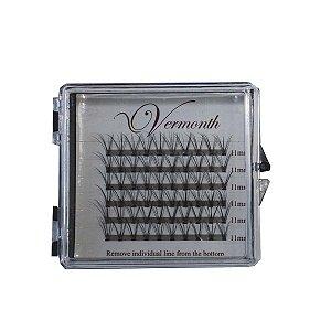 Tufos para volume russo caixa com 60 tufos TGSS lashes