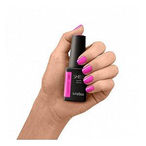 Esmalte em gel Kinetics Shield #196 Electro pink 15ml
