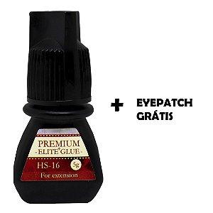 Cola Elite Premium HS-16 Volume Russo 5ml + Eye Patch Grátis
