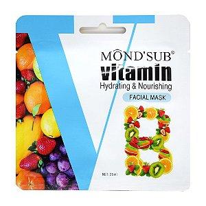 Máscara facial vitamina B mask Mondsub