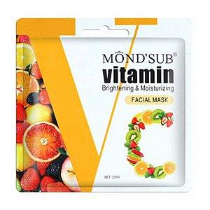 Máscara facial vitamina c mask Mondsub