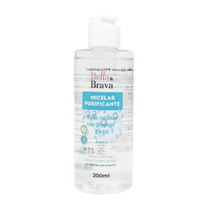 Água micelar purificante Bella & Brava 200 ml