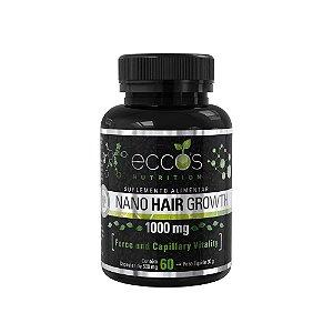 Nano hair growth caps 500mg 60 caps. eccos