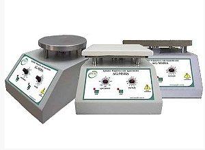 AGITADOR MAGNETICO C/AQUECIMENTO 300ºC PLATAFORMA ALUMINIO 165X165MM (AGITA DE 5ML a 10L)