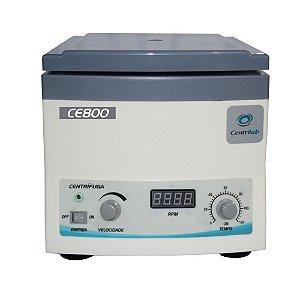 Centrífuga Clínica para 12 tubos de 15ml – Display Digital - 110V Centrilab