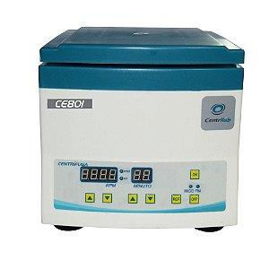Centrífuga Clínica para 12 tubos de 15ml – Display Digital e Motor de Indução - 110V Centrilab