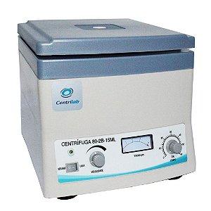 Centrífuga Clínica para 12 Tubos De 15Ml 110V Centrilab