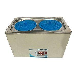Banho Maria Digital com 2 bocas - Capacidade 5 litros Global