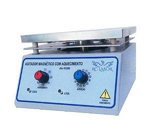 Agitador Magnético Com Aquecimento 127V  RC LABOR
