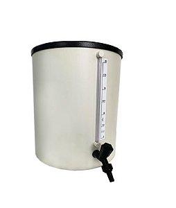 Barrilete em PVC rígido para água destilada 10 litros RC LABOR