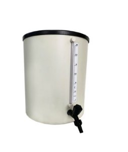 Barrilete em PVC rígido para água destilada 30 litros RC LABOR