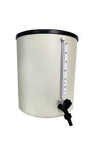 Barrilete em PVC rígido para água destilada 50 litros RC LABOR