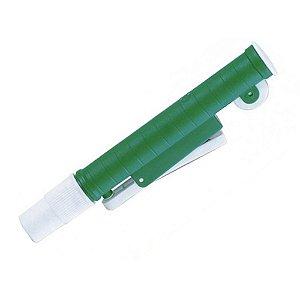 Aspirador Para Pipetas de 5ml e 10ml - Verde Global Plast