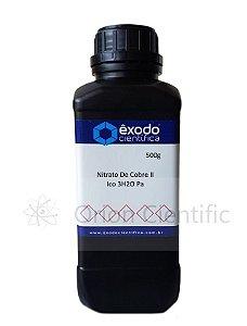 Nitrato De Cobre II Ico 3H2O Pa  500G Exodo Cientifica