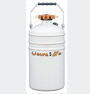 Botijão De Nitrogênio 5 Litros - Volta