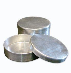Placa De Petri Com Tampa Em Alumínio 80X20Mm  Ricilab