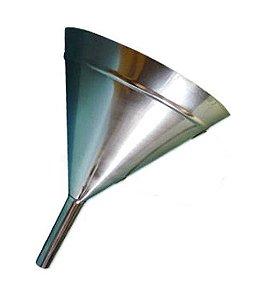 Funil Em Aço Inox Sem Alça 500Ml Ricilab