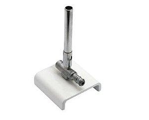 Bico De Bunsen Simples Em Alumínio Ricilab
