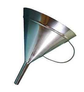 Funil Em Aço Inox Com Alça 250Ml Ricilab
